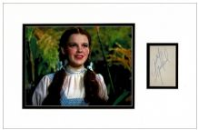 Judy Garland Autograph Signed - Wizard Of Oz